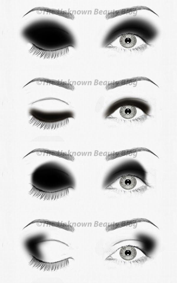 The Simplified Guide to Eyeshadow Application Part 3 - The Black & White | The Unknown Beauty Blog