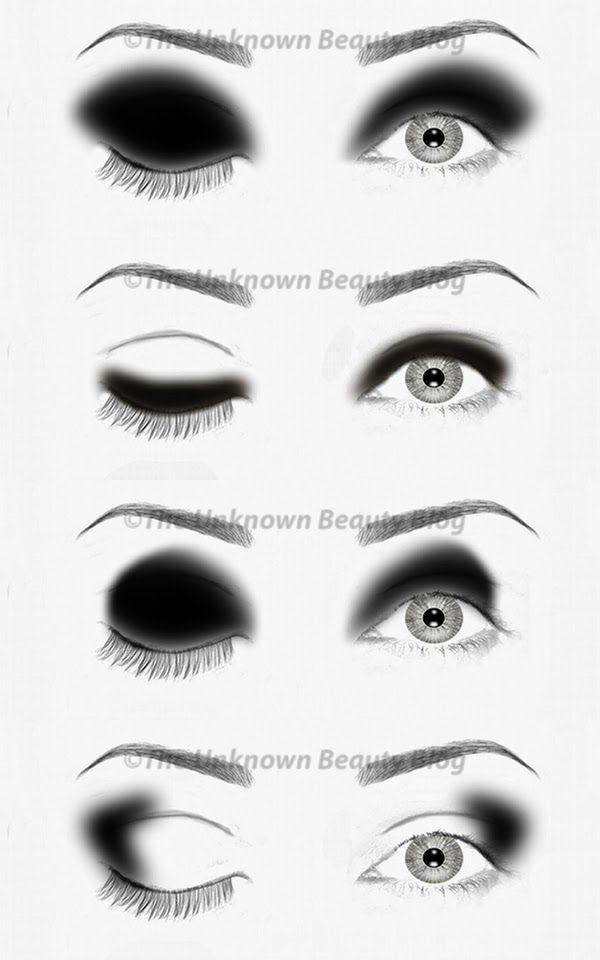 Eyeshadow Guide: Best 20+ Black Eye Shadows Ideas On Pinterest