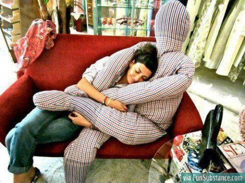 The Forever Alone Pillow