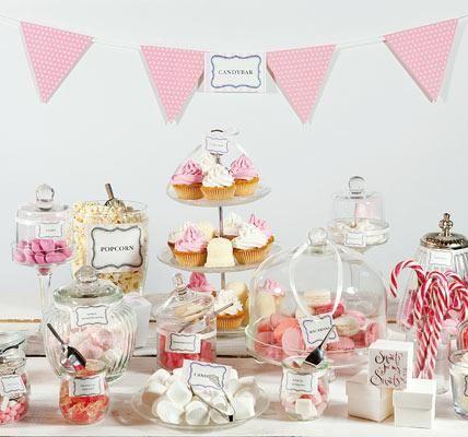 Candybar zur Hochzeit mieten