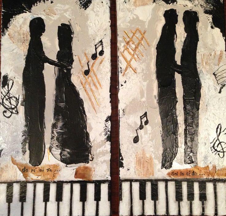 Duo   Do Ré Mi Fa (12x24)  Sol La Si Do (12x24)