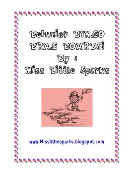 20% Off! Behavior Bingo Brag Boards are a great way to reinforce positive behaviors! This board encourages your students to work as a team. It also reminds teachers to look for and focus on exceptional behavior all day! Print the behavior bingo board that you like and post it in the classroom.