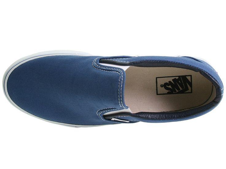 Vans Classic Slip-Ontm Core Classics Shoes Navy (Canvas)