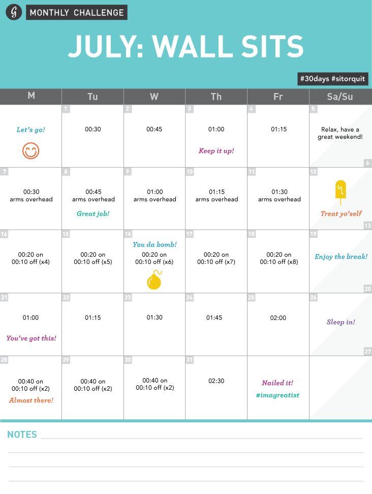 July wall sits plan