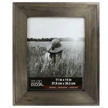 "Charcoal Hampton Frame by Studio Decor® Home Collection, 11"" x 14"""