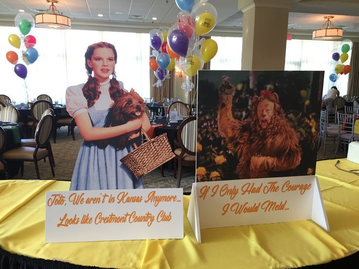 There's no place like home if it is Crestmont Country Club! The #WizardofOz has come to West Orange, NJ, just follow the #yellowbrickroad   #balloons, #balloondecorating, #lotparty.com,  #oz #crestmontcc #donutwall, #cardparty2017