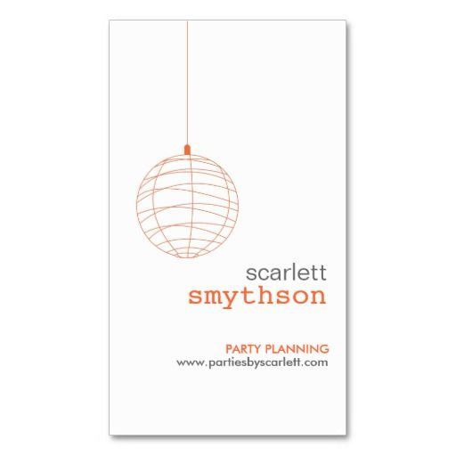 Best Event Planners And Party Planners Business Card Templates