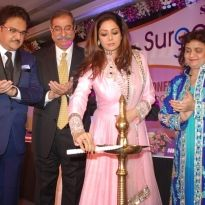 Inauguration of surge by hands of Madhuri Dixit