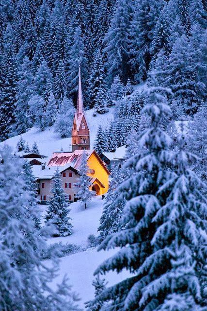 Christmas tale, Dolomites, Italy