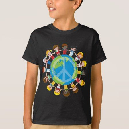 Global Children T-Shirt - click/tap to personalize and buy