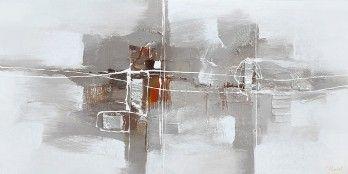schilderij modern 70x140