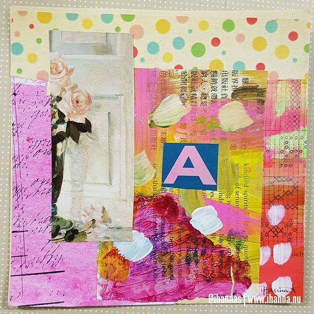 Photo by iHanna on Instagram @ihannas: Oh Hanna you get an A for effort on this collage created for the #365somethings2018 project. Keep going! You can do it?!  Who is with me pushing boundaries? We can do it. We are doing it.  #collagen #collage #collageart #collageartist #cutandpaste #astudent #artistwannabe #artlife #polkadots #paintedpages #paintedpapers #targetpractice #365project #arteveryday #artistsofinstagram #creativechallenge #studioihanna