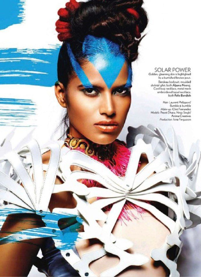 PREETI DHATA  by BAME Model & Talent Management, the number one agency for Black, Indian & Asian models in Europe.