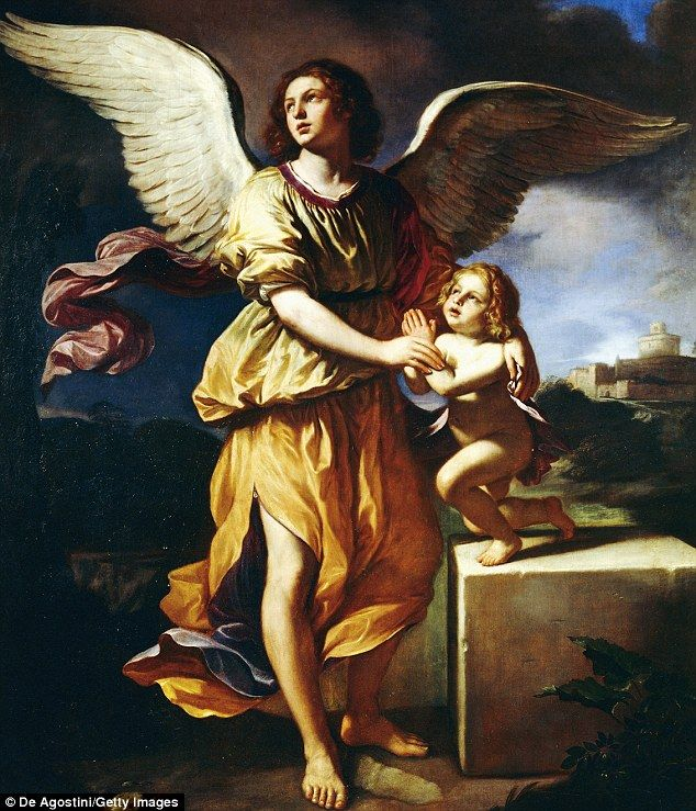 Famous Paintings Guardian Angels
