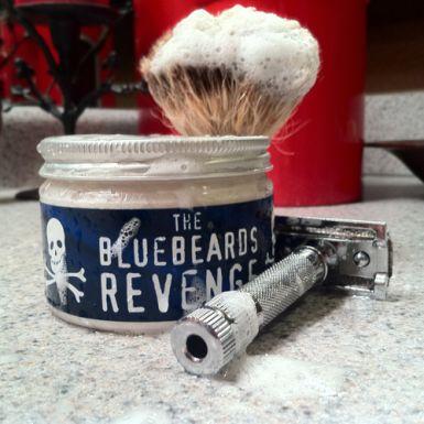 REVIEW: Bluebeard's Revenge Shaving Cream: The Bluebeard's Revenge Shaving Cream