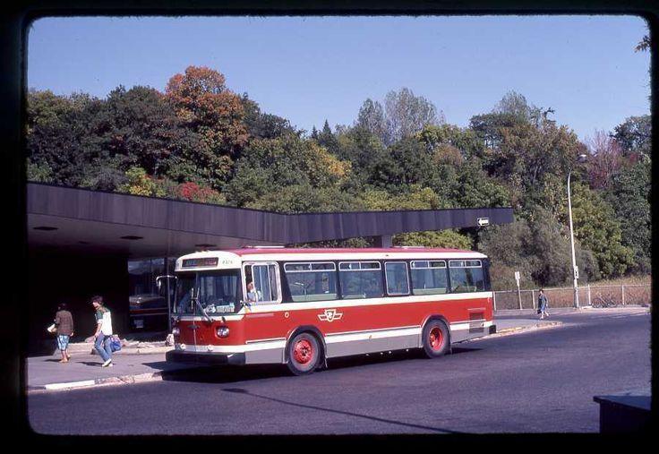 TTC Toronto original bus slide Orion # 8378 taken 1982