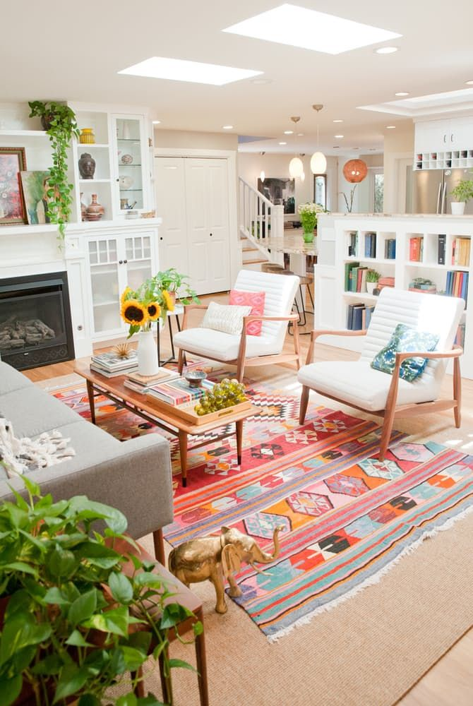 House Tour A Cheery Patterned Oasis in