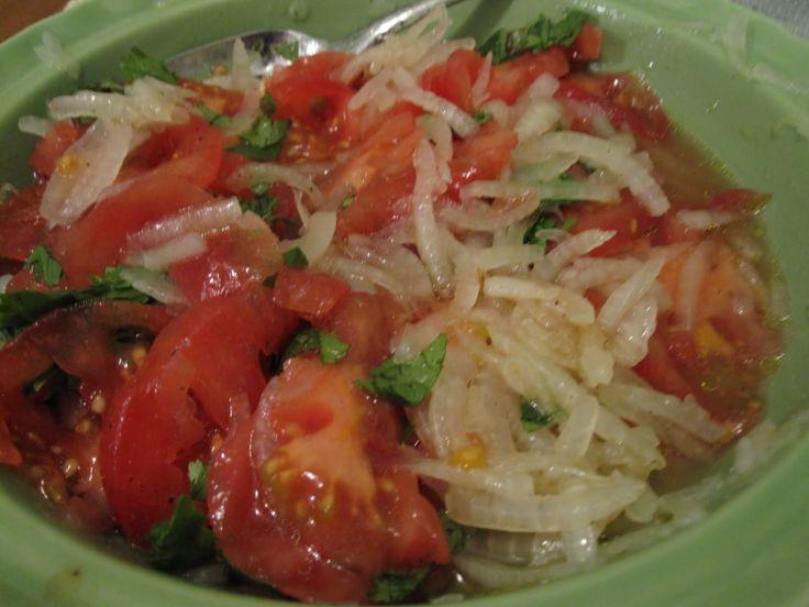Platos típicos Chilenos: Ensalada Chilena