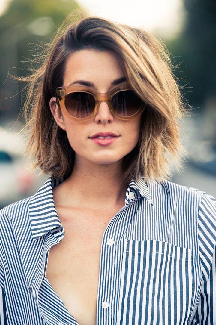 Peinados para cabellos cortos. http://stylelovely.com/novedades-belleza/peinados-para-pelo-corto/