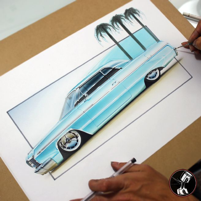 54 Best Custom Car Art Images On Pinterest Custom Cars Kustom