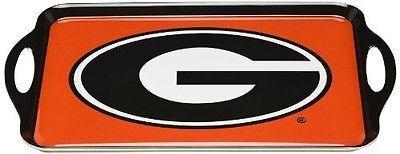 BSI NCAA Georgia Bulldogs Melamine Serving Tray