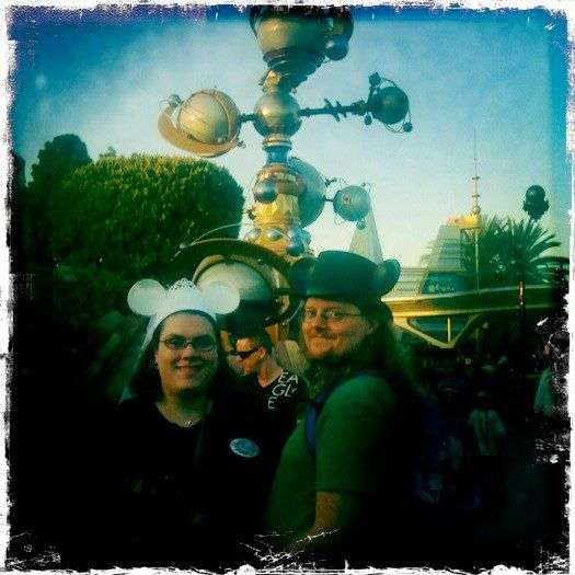 Meghann & Josh's guerilla civil ceremony in Disneyland   @offbeatbride