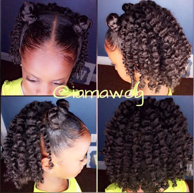 Natural Hair Cornrow Braids With Ends Tucked In