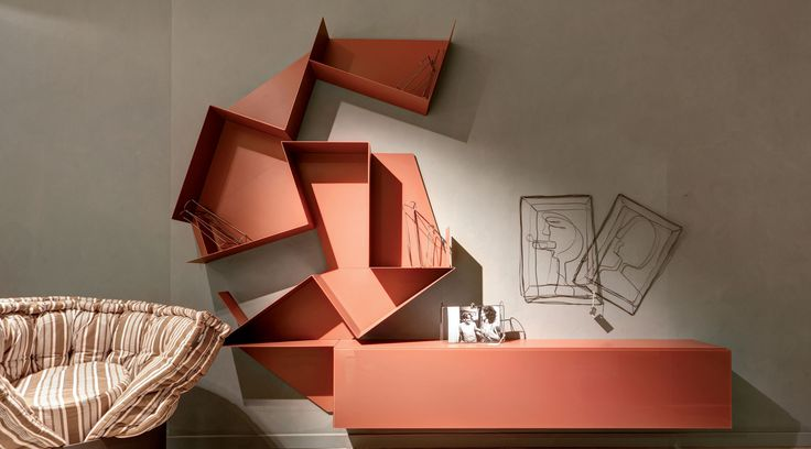 Slide customisable shelf - LAGO