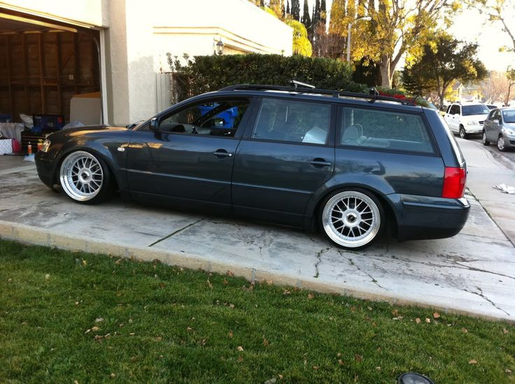 Passat Wagon Lowered | Definitly gonna heat up the springs and get the rear lower... More ...