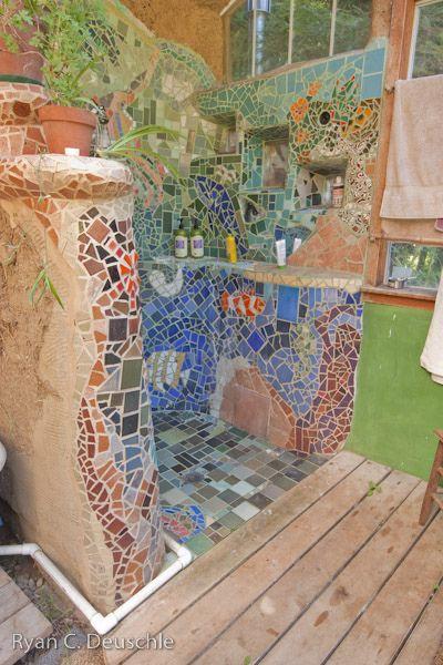 Now That S A Mosaic Le Bain Pinterest Shower Tiles