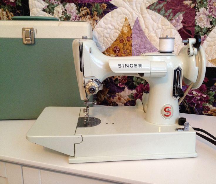 1963 singer sewing machine