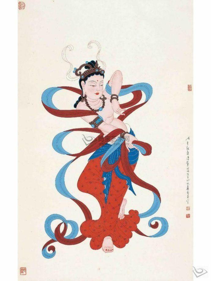 [转载]魂系敦煌-----潘絜兹大师笔下的敦煌画