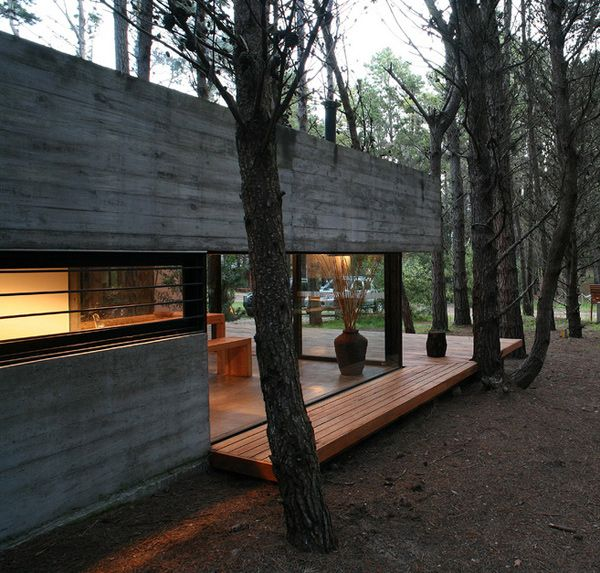 Chalet moderne en Argentine. Par BAK Architects.