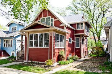17 best images about craftsman bungalows on pinterest - Arts and crafts exterior paint colors minimalist ...