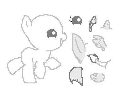 Pony base baby base my little pony pinterest dessin dan coloriage - Petit quick coloriage ...