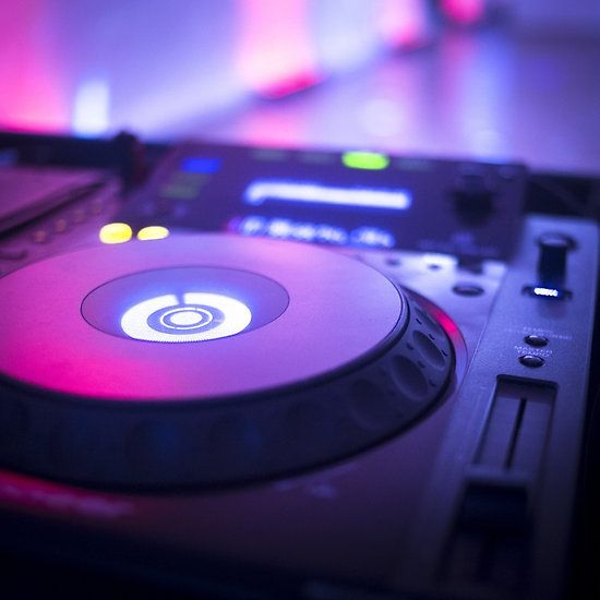 House dance music dj deejay turntable mixing desk nightclub party Ibiza