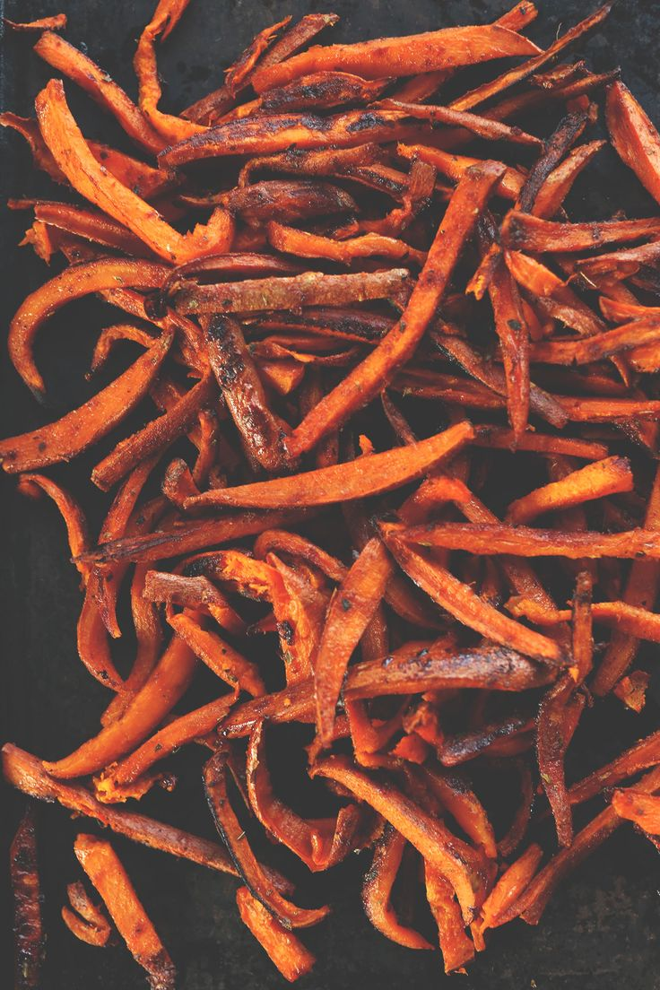 Cajun Sweet Potato Fries! Perfectly spicy-sweet and delicious! #vegan #glutenfree #minimalistbaker