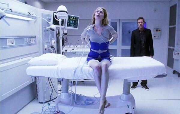 Wilson's Heart: Season 4 Episode 16: originally broadcast on Fox on May 19, 2008 | Dr. Amber Volakis (Anne Dudek) and Dr. Gregory House (Hugh Laurie) | season finale of the fourth Season | eighty-sixth episode overall