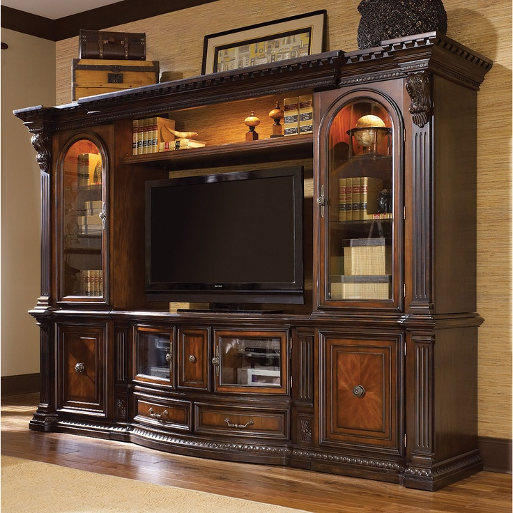 RC Willey - Fairmont Designs 6-Piece Entertainment Wall Unit