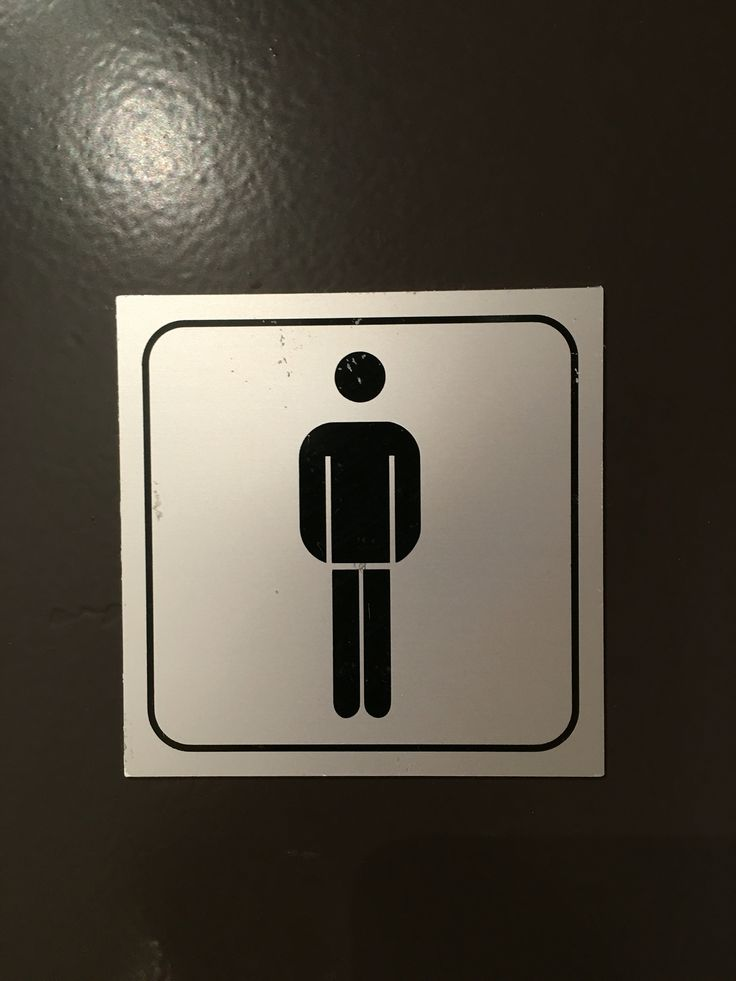 WC signage