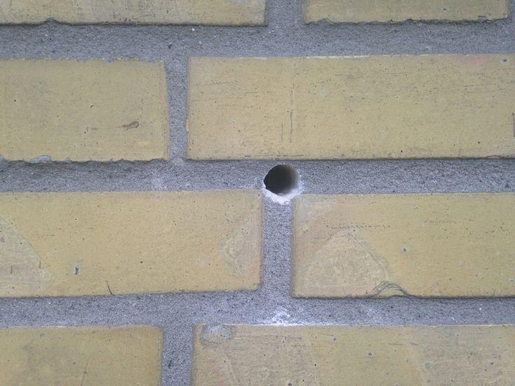 22mm hul i mur til hulmursisolering
