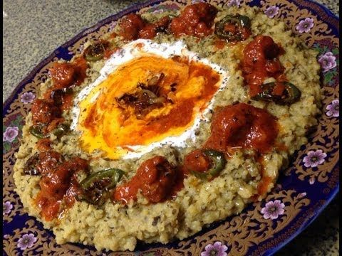 Kichiri quroot Afghan sticky rice with meatballs and yogurt Afghan cuisine - YouTube