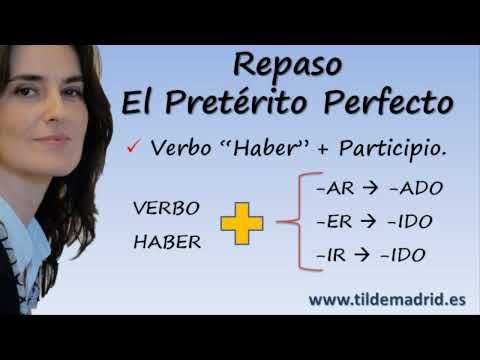 Spanish Lessons #07 - Pretérito Perfecto  -to summarize experiences from life, a month, week or year-  could be great to do regularly as a review and for individual students to write what they've learned each day, week or unit in a reflection log.