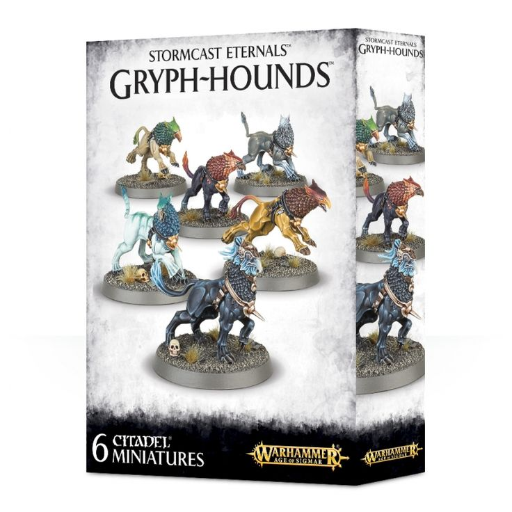 Stormcast Eternals Gryph-Hounds - Order Grand Alliance