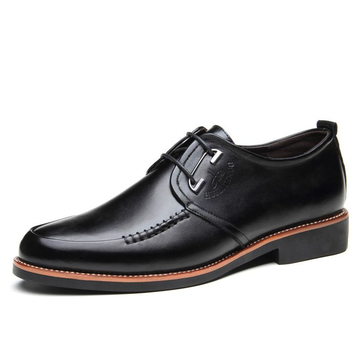2016 New Fashion Brand ︻ Casual Men's Pointed Toe Shoes Business Formal  Genuine ᗖ Leather Oxfords Wearable Lace-Up Led Shoe 2016 New Fashion Brand  Casual ...