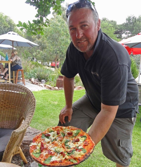 One of the Best: Pizza in Australia's Clare Valley- Stone Bridge winery