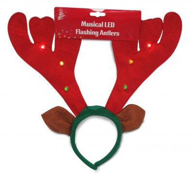 You may not have a shiny nose but I'll still look great on you!  #christmas #reindeer #costumes  REINDEER ANTLERS 6 MULTI LED Online Price: $3.00 Ships: Australia wide