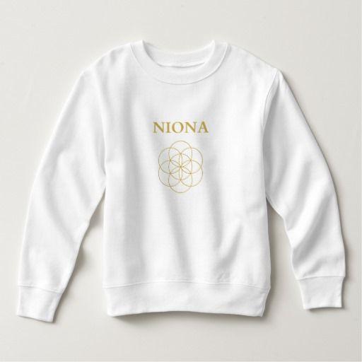 Niona Toddler Fleece Sweatshirt