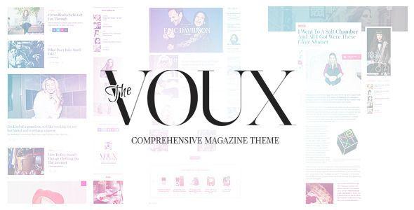 The Voux - A Comprehensive Magazine Theme - News / Editorial Blog / Magazine