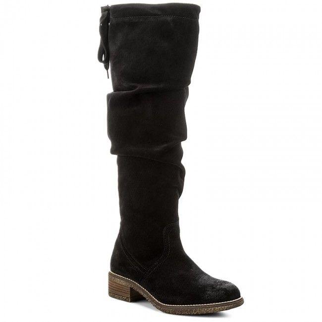 Μπότες TAMARIS - 1-25615-29 Black 001